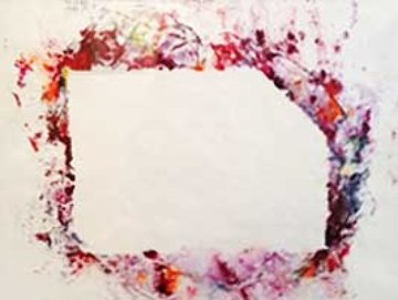 Untitled Unique Monotype 35x27 Works on Paper (not prints) - Sam Francis