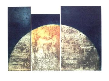 Series Semicircle III 1996 24x29 Limited Edition Print - Francisco Ferro