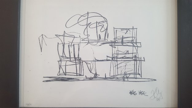 Study For New Frank Gehry House 2004