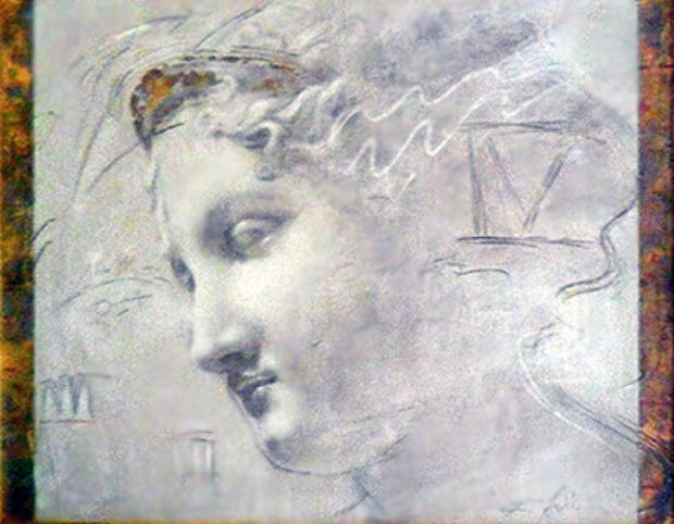 Song of Athena 1990 50x41