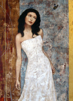 Hidden Beauty 2004 50x40 Original Painting - Francois Fressinier