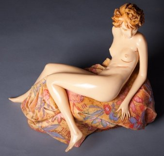 Awakening Beauty 1987 20 in Sculpture - Frank Gallo
