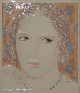 Untitled Tile - Relief Sculpture Sculpture - Frank Gallo