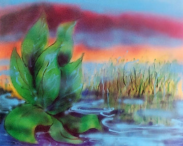 Wetlands II 1990 HS Limited Edition Print - Jerry Garcia