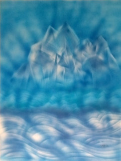 Blue Iceberg 1991 Limited Edition Print - Jerry Garcia