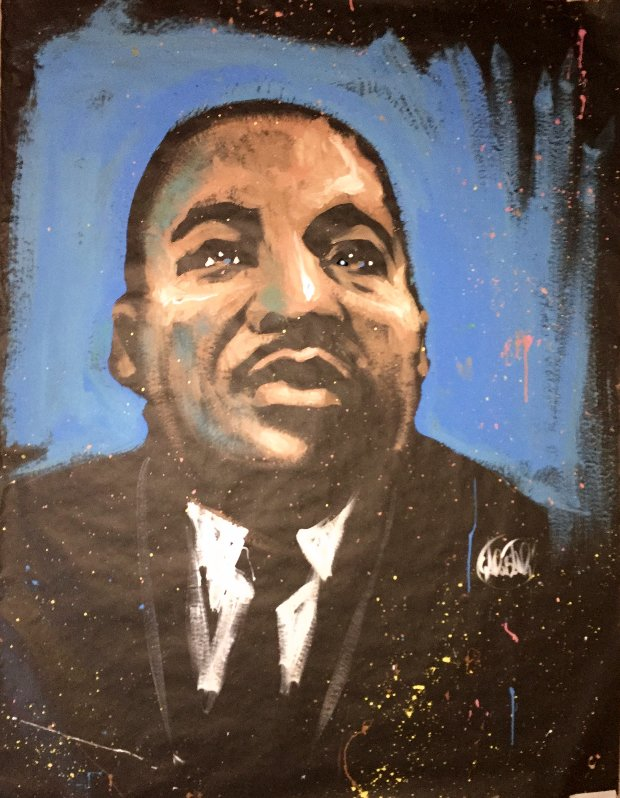 Martin Luther King Jr. 2007 48x36