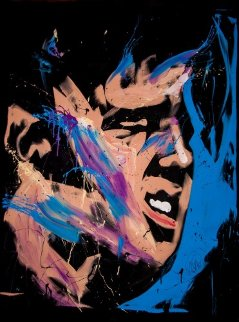 Elvis Presley 57x70 2013 Original Painting - David Garibaldi