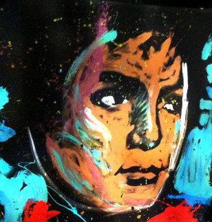 Michael Jackson 2012 72x60 Original Painting - David Garibaldi