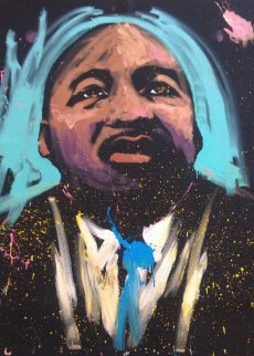 Martin Luther King (Selma) 70x59 2008 Original Painting - David Garibaldi