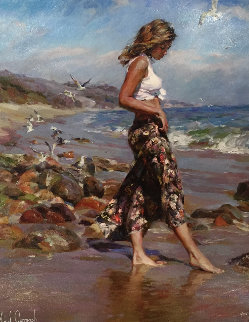 Toes in the Sand 2004 Limited Edition Print - Michael and Inessa  Garmash