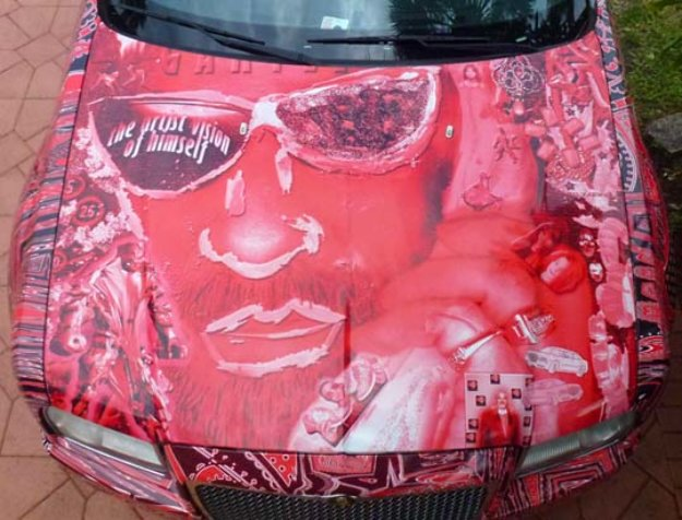 Chrysler 300 Art Car - Artist Vision of Himself 2013