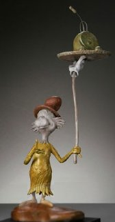 Green Eggs And Ham Bronze Sculpture Maquette Edition Sculpture - Dr. Seuss