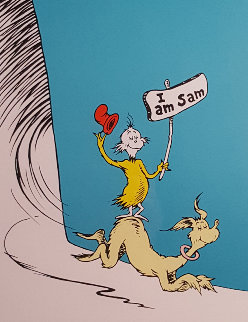 I Am Sam Limited Edition Print - Dr. Seuss