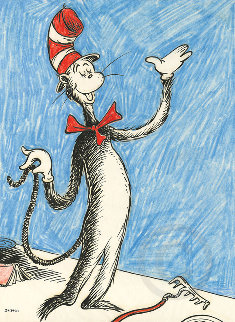 Cat That Changed the World 2014 Limited Edition Print - Dr. Seuss