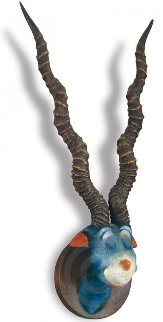 Blue Green Abelard Resin Sculpture 1999 Sculpture - Dr. Seuss