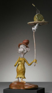 Green Eggs and Ham Bronze Sculpture Sculpture - Dr. Seuss