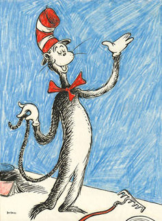 Cat That Changed the World 2012 Limited Edition Print - Dr. Seuss