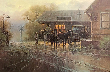 Katy Depot 1979 Limited Edition Print - G. Harvey