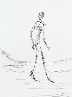 Walking Man 1964 Limited Edition Print - Alberto Giacometti