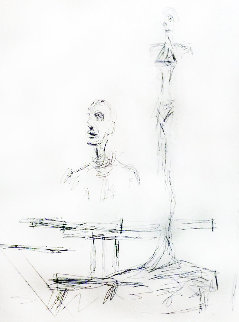 Search 1965 Limited Edition Print - Alberto Giacometti