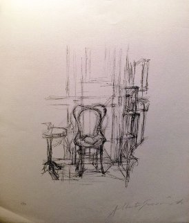 Chase Et Gueridon No. 33 1960 Limited Edition Print - Alberto Giacometti