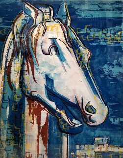 Greek Horse 1969 Limited Edition Print - Francoise Gilot
