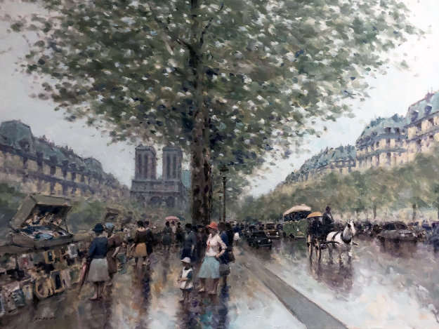 Untitled Paris Cityscape 1983 39x49