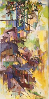 Siena 48x24 Original Painting - Kamal Givian