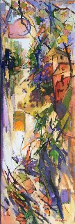 Autumn to Remember 72x24  Original Painting - Kamal Givian