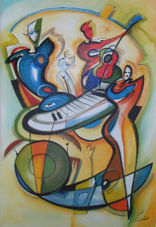 Play It Again w Remarque Limited Edition Print - Alfred Gockel