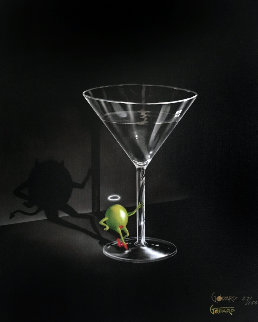 She Devil Martini 2004 Limited Edition Print - Michael Godard