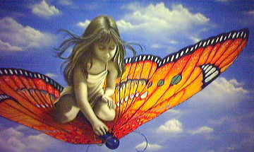 Butterfly 2006 Limited Edition Print - Michael Godard