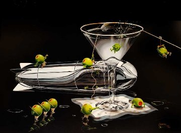 Martini Training I and II AP 2012 Limited Edition Print - Michael Godard