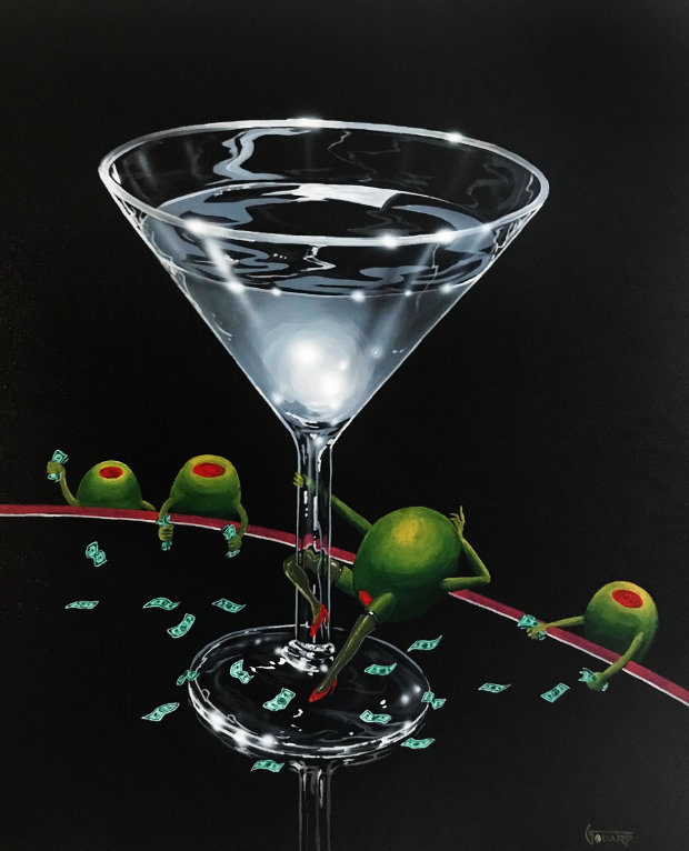 Dirty Martini  2002 30x24