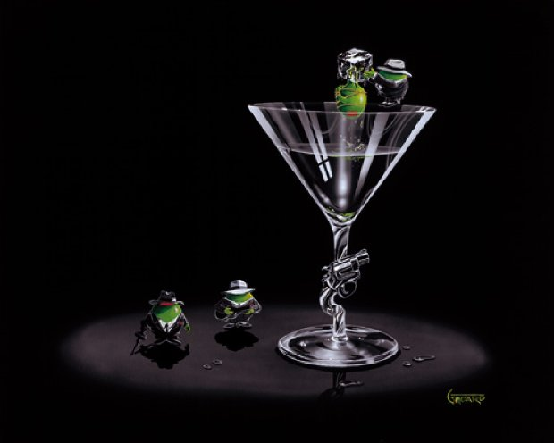 Gangster Martini (2 Shots and a Splash) 2005