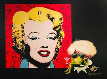 Marilyn 2018   Embellished Limited Edition Print - Michael Godard
