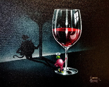 She Devil Wine 2014 Limited Edition Print - Michael Godard
