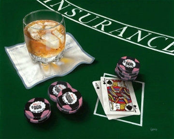 Scotch And Black Jack Limited Edition Print - Michael Godard