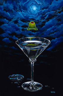 Zen Martini 2004 Limited Edition Print - Michael Godard