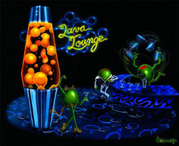 Lava Lounge 2006 Limited Edition Print - Michael Godard