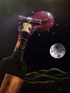 Something to Wine About 2008 Limited Edition Print - Michael Godard