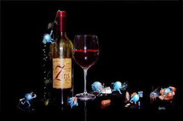 7 Deadly Zin's 2003 Limited Edition Print - Michael Godard