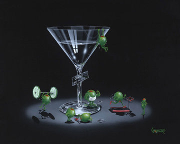 Liquid Diet 2004  Limited Edition Print - Michael Godard