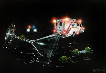 Party Foul Don't Drink And Drive  2005 Limited Edition Print - Michael Godard
