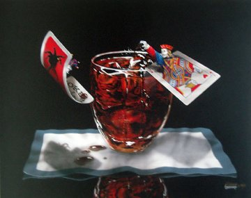 Jack and Coke 2004 Limited Edition Print - Michael Godard