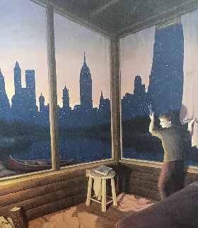 A Change of Scenery - New York Skyline Limited Edition Print - Rob Gonsalves