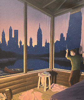 A Change of Scenery 1994 Limited Edition Print - Rob Gonsalves