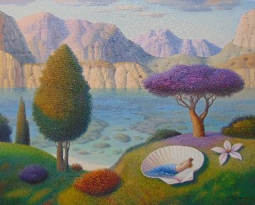Summer Dream 2018 24x30 Original Painting - Evgeni Gordiets