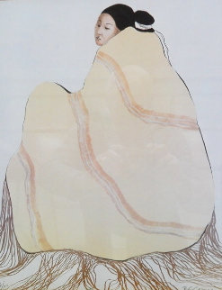 Untitled (Woman with Beige Blanket) 1977 Limited Edition Print - R.C. Gorman