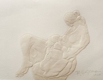 Newborn Cast Paper 1984 Limited Edition Print - R.C. Gorman